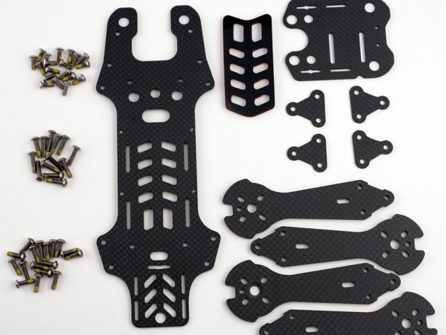 Vortex 250 Pro Carbon Fiber Part Set