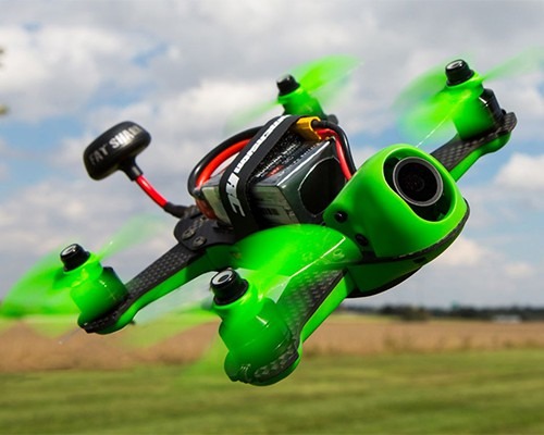 Vortex 150 Mini in flight