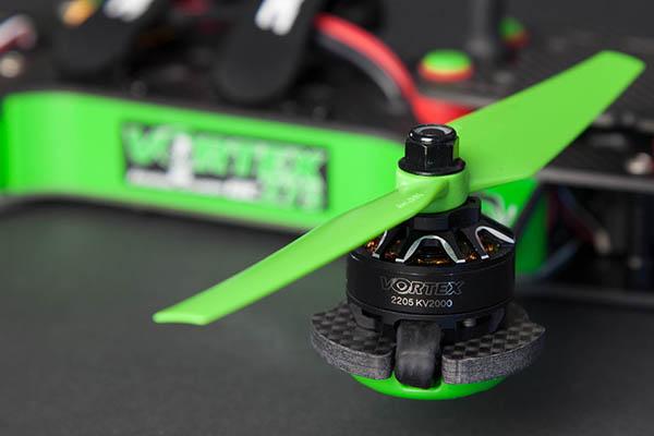 Vortex 275 Pro Metall Danny Edition, Motor